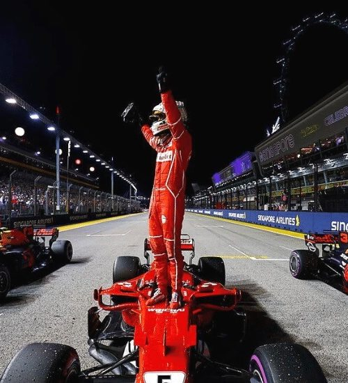 MANAGING ASIA'S BIGGEST MOTORSPORT EVENT : F1